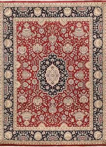 Firebrick Isfahan 9' x 11' 11 - No. 68534