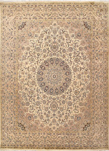 Blanched Almond Isfahan 8' 11 x 12' - No. 68536