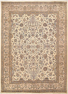 Blanched Almond Mahal 8' 11 x 12' 4 - No. 68539
