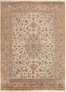 Blanched Almond Isfahan 8' 1 x 11' 2 - No. 68542