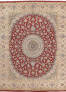 Firebrick Isfahan 8' x 10' - No. 68553