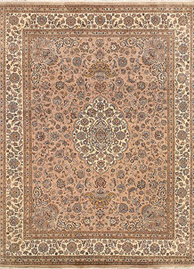 Peach Puff Isfahan 7' 11 x 10' 3 - No. 68563