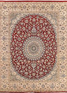 Firebrick Isfahan 7' 10 x 10' 2 - No. 68568