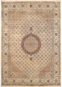 Blanched Almond Tabriz 8' x 11' 2 - No. 68570