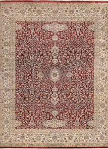 Firebrick Mahal 7' 11 x 10' 1 - No. 68571