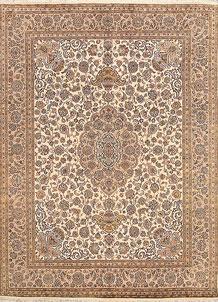 Cornsilk Isfahan 7' 11 x 10' 8 - No. 68575