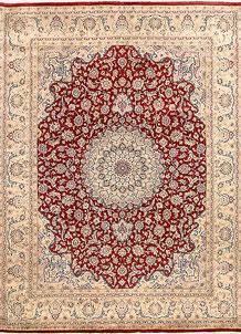 Firebrick Kashan 8' 1 x 10' 6 - No. 68576