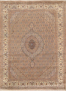 Peach Puff Tabriz 8' x 10' 8 - No. 68580