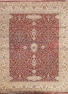 Firebrick Mahal 8' x 10' 3 - No. 68582