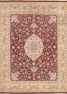 Firebrick Isfahan 7' 11 x 10' 4 - No. 68584