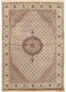 Blanched Almond Tabriz 7' 11 x 11' 4 - No. 68595