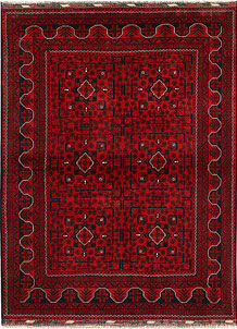 Dark Red Khal Mohammadi 4' 11 x 6' 7 - No. 68645