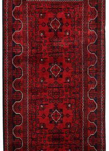 Dark Red Khal Mohammadi 2' 11 x 9' 6 - No. 68669