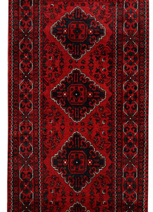 Dark Red Khal Mohammadi 3' x 9' 7 - No. 68670