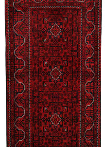 Dark Red Khal Mohammadi 2' 11 x 9' 8 - No. 68671