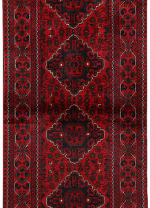 Dark Red Khal Mohammadi 2' 7 x 6' 6 - No. 68672