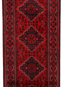 Dark Red Khal Mohammadi 2' 7 x 9' 6 - No. 68673