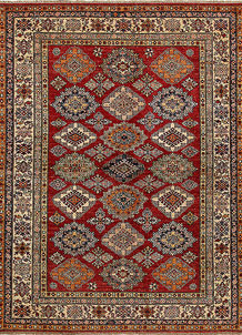 Dark Red Kazak 5' 10 x 7' 7 - No. 68701