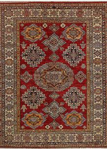 Firebrick Kazak 5' 11 x 7' 7 - No. 68703
