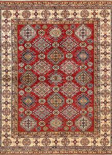 Firebrick Kazak 8' 2 x 9' 8 - No. 68706