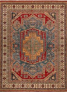 Multi Colored Kazak 8' 4 x 10' 4 - No. 68708
