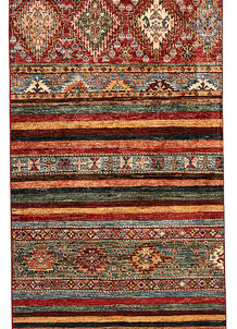Multi Colored Kazak 2' 9 x 8' - No. 68709
