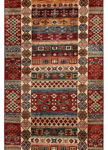 Multi Colored Kazak 2' 8 x 8' 10 - No. 68711
