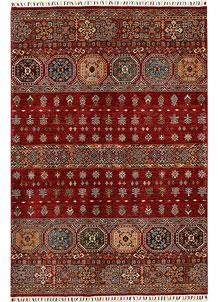 Firebrick Kazak 5' 7 x 8' 2 - No. 68715