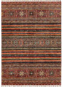 Multi Colored Kazak 5' 11 x 8' 2 - No. 68716