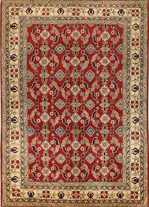 Firebrick Kazak 6' 6 x 9' 5 - No. 68723