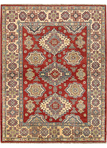 Firebrick Kazak 5' 1 x 6' 6 - No. 68726