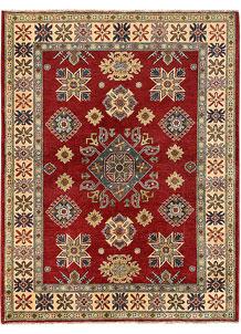 Dark Red Kazak 4' 11 x 6' 4 - No. 68728