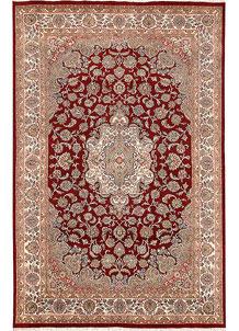 Firebrick Isfahan 5' 10 x 8' 11 - No. 68735
