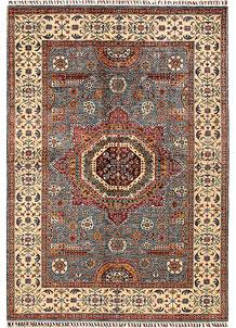 Slate Grey Mamluk 5' 7 x 7' 11 - No. 68818