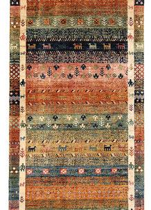 Multi Colored Kazak 2' 9 x 9' 7 - No. 68829