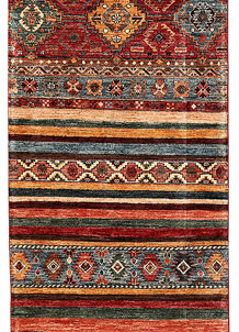 Multi Colored Kazak 2' 8 x 9' - No. 68831