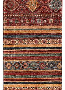 Multi Colored Kazak 2' 8 x 8' - No. 68832