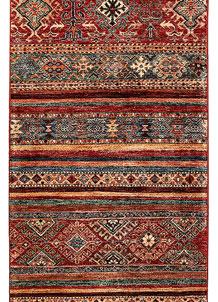 Multi Colored Kazak 2' 6 x 8' 6 - No. 68836