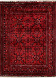 Dark Red Khal Mohammadi 4' 10 x 6' 3 - No. 68908