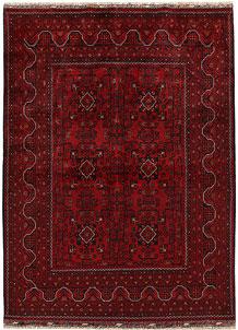 Dark Red Khal Mohammadi 4' 9 x 6' 6 - No. 68909