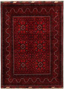 Dark Red Khal Mohammadi 4' 9 x 6' 6 - No. 68910