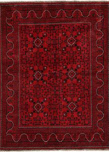 Dark Red Khal Mohammadi 4' 11 x 6' 5 - No. 68911