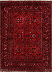 Dark Red Khal Mohammadi 4' 10 x 6' 5 - No. 68912