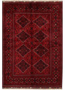 Dark Red Khal Mohammadi 4' 10 x 6' 11 - No. 68913