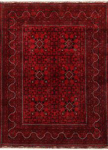 Dark Red Khal Mohammadi 4' 9 x 6' 4 - No. 68914