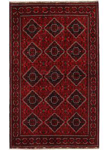 Dark Red Khal Mohammadi 5' 4 x 8' 7 - No. 68918