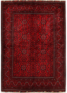 Dark Red Khal Mohammadi 5' 7 x 7' 9 - No. 68919