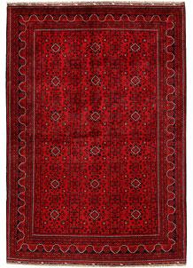 Dark Red Khal Mohammadi 6' 7 x 9' 10 - No. 68923