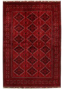 Dark Red Khal Mohammadi 6' 6 x 9' 7 - No. 68924