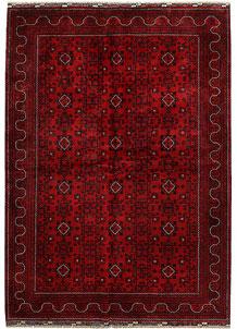 Dark Red Khal Mohammadi 6' 6 x 9' 8 - No. 68925